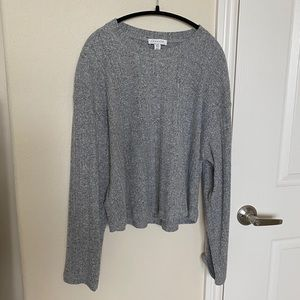 Topshop long sleeve sweater